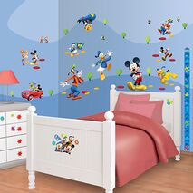 Αυτοκόλλητα Mickey Room Decor Kit Club