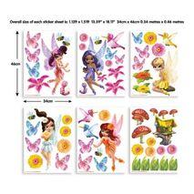 Baby magical fairies stickers σέτ βαλιτσάκι με αυτοκόλλητα τοίχου