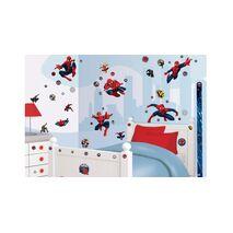 Spiderman stickers Walltastic σετ βαλιτσακι με αυτοκολλητα τοιχου.