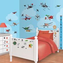 Αυτοκολλητα Disney Planes Room Decor Kit