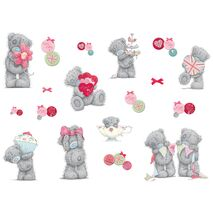 Αυτοκολλητο mini tatty teddy celebretion