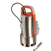 B68A-1100 Υποβρύχια αντλία νερού ακάθαρτων υδάτων INOX με ηλεκτρονικό φλοτέρ SENSOR BAX 1100W