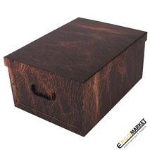 Κουτί αποθήκευσης leather brown