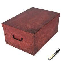 Κουτί αποθήκευσης leather red