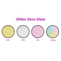 Γαλάκτωμα Glitter Deco Glaze ζωηρό γκλίτερ Pellachrom 750ml.