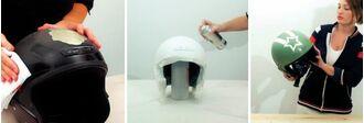 Πως να ανανεώσετε ή διακοσμήσετε το κράνος σας με σπρέι βαφής Pintyplus