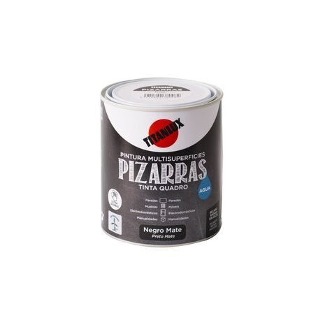 Pizarras Ματ χρώμα μαυροπίνακα νερού Titan 750ml
