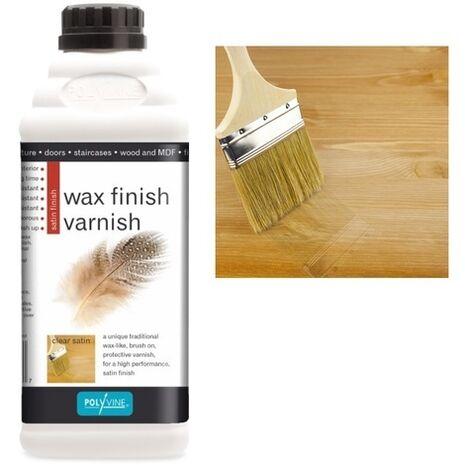 Wax Finish Varnish Βερνίκι με χρώμα
