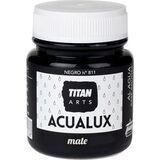 Acualux Ματ χρώμα μαυροπίνακα νερού Titan 100ml
