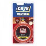 Montack ταινία στερέωσης διπλής όψης Ceys 2,5m X 19mm