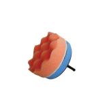 Βάση πλαστική VELCRO για δράπανο Flexipads 75mm + Σφουγγάρι γυαλίσματος
