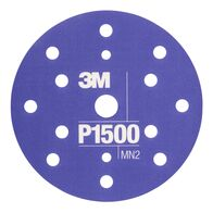 3M Εύκαμπτο φύλλο λείανσης χειρός Hookit 140 x 172 mm P1500 343433M Εύκαμπτος δίσκος λείανσης Hookit 150 mm P1500
