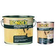 Συντηρητικό  μυκητοκτόνο ξύλου για το σαράκι με εντομοκτόνο δράση Bondex Preserve II