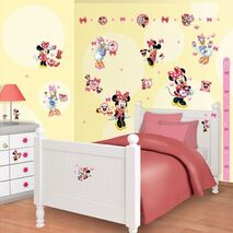 Αυτοκόλλητα Minnie mouse Room Decor Kit Club