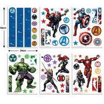 Avengers stickers Walltastic σετ βαλιτσακι με αυτοκολλητα τοιχου.