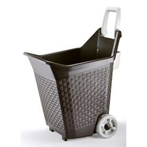 Πλαστικό καρότσι μεταφοράς Bama Kart 76lt πολλαπλών χρήσεων.