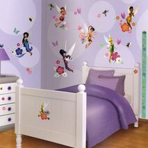 Αυτοκόλλητα Disney fairies  Room Decor Kit Club