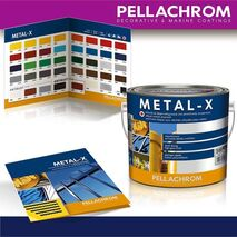 METAL-X Αλκυδικό βερνικόχρωμα για μεταλλικές επιφάνειες
