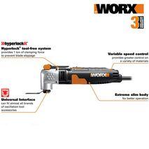 WX685 Πολυεργαλείο ηλεκτρικό 250W Sonicrafter Worx
