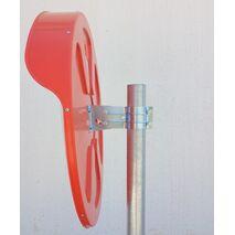 Καθρέφτης ασφαλείας 80cm πολυκαρβονικός Doorado PARK-EC-80
