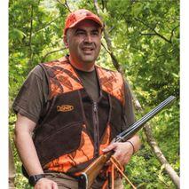 4 ΠΚ Γιλέκο κυνηγιού με 2 σειρές φυσιγγιοθήκες Dispan