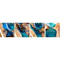 Διάφανη χρωστική για υγρό γυαλί Alfakem 50ml