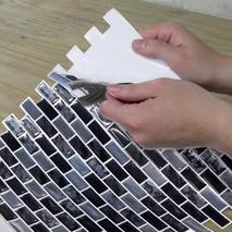 Αυτοκόλλητα πλακάκια τοίχου marble tile εσωτερικού χώρου σε σχέδιο πέτραςΑυτοκόλλητα πλακάκια τοίχου marble tile εσωτερικού χώρου σε σχέδιο πέτρας