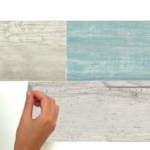Αυτοκόλλητη ταπετσαρία τοίχου εσωτερικού χώρου παλαιωμένου ξύλινου εφέ μπλεΑυτοκόλλητη ταπετσαρία τοίχου εσωτερικού χώρου παλαιωμένου ξύλινου εφέ μπλε