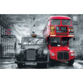 Taxi and Bus 00698 Giant Arts 115 x 175cm