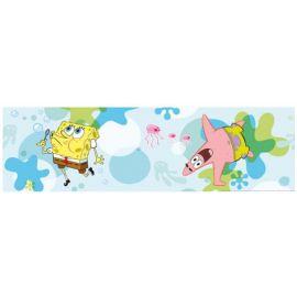 Αυτοκολλητη μπορντουρα Spongebob (42284)