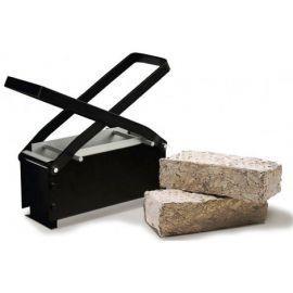 Πρέσσα μεταλλική χαρτιού.Μία Μηχανή που Δημιουργεί Χάρτινα Καυσόξυλα.