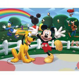 Παιδική Θεματική Ταπετσαρία Mickey Mouse Club House
