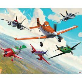Παιδική Θεματική Ταπετσαρία Planes
