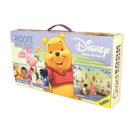 Winnie the pooh  σετ βαλιτσακι με αυτοκολλητα τοιχου.