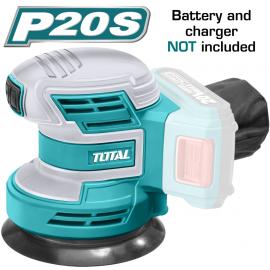 Τριβείο χούφτας εκκεντρο μπαταρίας λιθίου 20V Total TROSLI2001