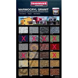 Διακοσμητικό παστώδες επίχρισμα τοίχου Marmocryl Granit Isomat 25kg