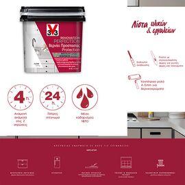 Βερνίκι νερού DIY ανακαίνισης κουζίνας V33 Renovation Perfection Kitchen 0,5LT