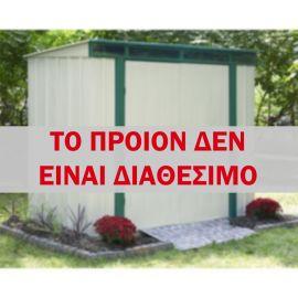 Eurolite pent 8x4 Αποθήκη κήπου μεταλλική γαλβανιζέ εν θερμώ Arrow