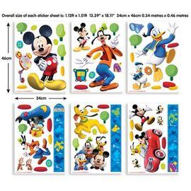 Αυτοκόλλητα Mickey Room Decor Kit Club