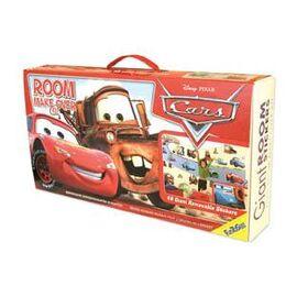 Disney pixar cars σέτ βαλιτσάκι με αυτοκόλλητα τοίχου