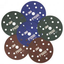 3M Εύκαμπτος δίσκος λείανσης Hookit 150mm P1000 34423