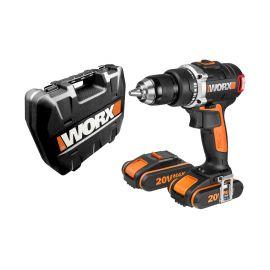 WX175 Δραπανοκατσάβιδο με 2 μπαταρίες 20V λιθίου Worx