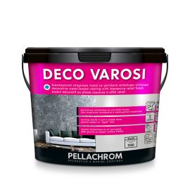 Deco Varosi Granite τεχνοτροπία τοίχου με ανάγλυφο τελείωμα 1L