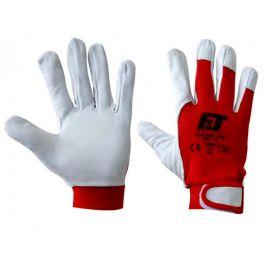 Δερμάτινα γάντια εργασίας 0786 F&T Safety