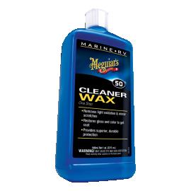 Καθαριστικό υγρό κερί σκαφών Meguiars Marine One Step Cleaner Wax