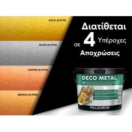 διακοσμητικό μεταλλικό χρώμαDECO METAL 750ml-χρωματολόγιο