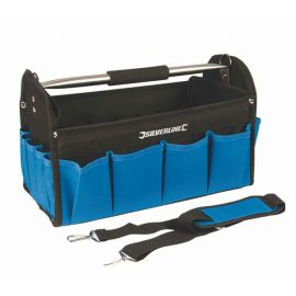 Εργαλειοθήκη τσάντα ανοιχτή Silverline 400x200x255mm