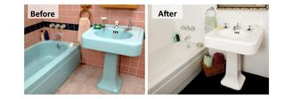 Ανακαινίστε το μπάνιο σας γρήγορα και οικονομικά..!