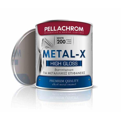 Βερνικόχρωμα μεταλλικών επιφάνειων Metal-X