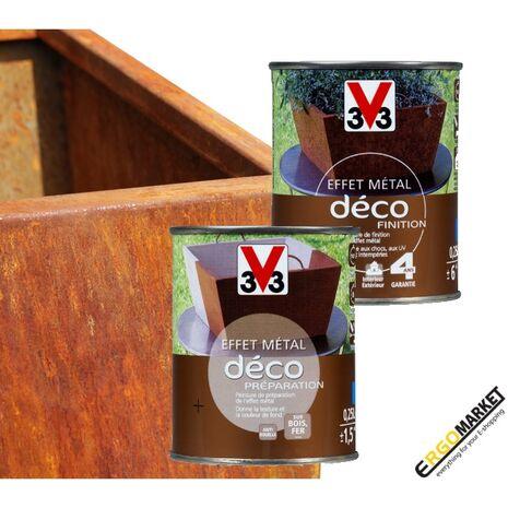 Εφέ πατίνας μετάλλου DECO METAL EFFECT 1+1